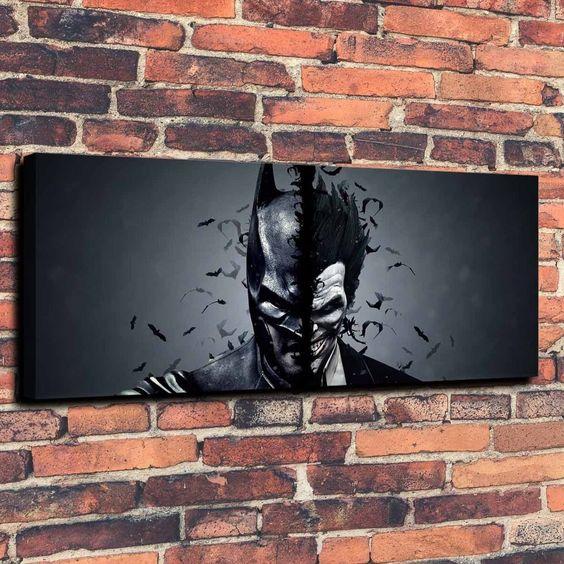 Batman Joker art print piece looks stunning