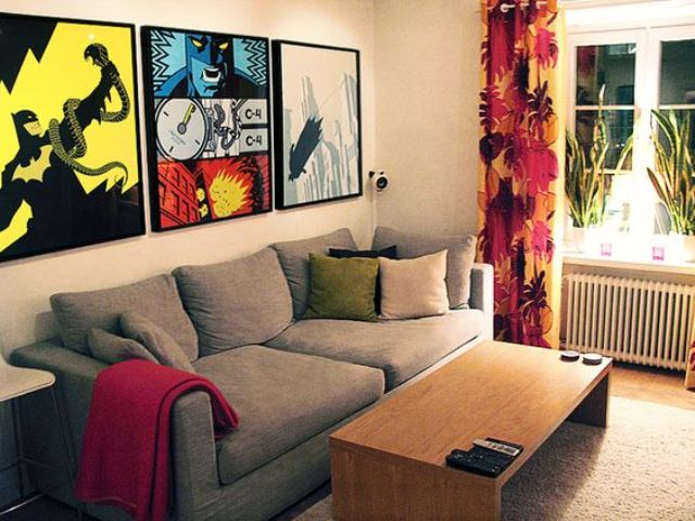 Batman comics posters are a stylish idea for any man cave