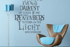 03 removable Harry Potter quote wall decal is a smart idea for renting