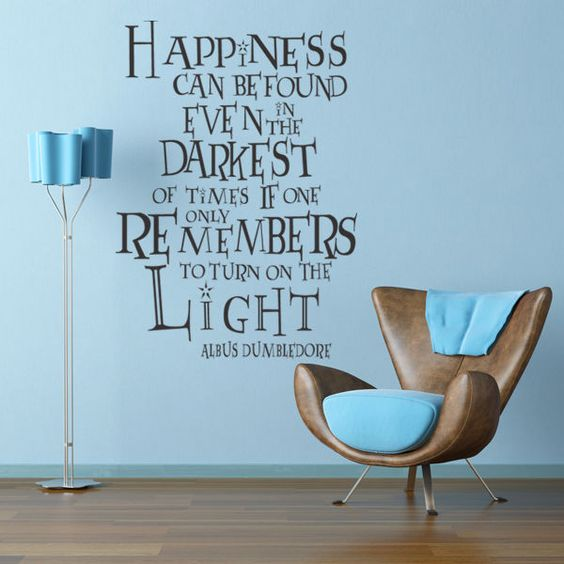 removable Harry Potter quote wall decal is a smart idea for renting