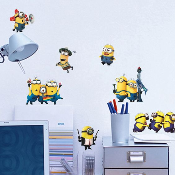 Minion Wall Decor 15 despicable me themed home decor ideas - shelterness