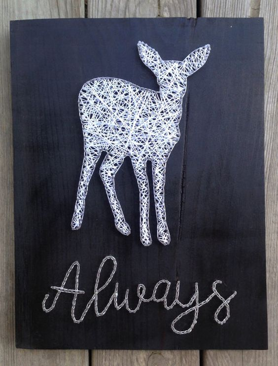 Harry Potter patronus atring wall art