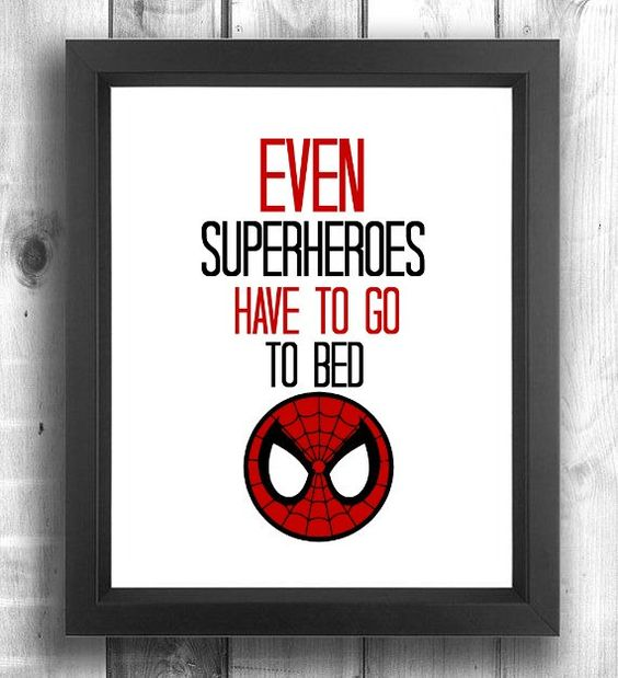 framed Spiderman wall art for a boy's room is easy to DIY