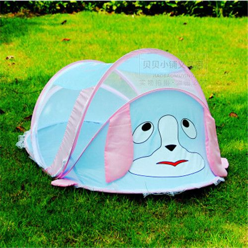 cartoon animal baby tent for outdoors looks super cute & 15 Baby Tents And Cribs To Take Your Kids Outside - Shelterness