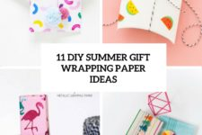 11 diy summer gift wrapping paper ideas cover
