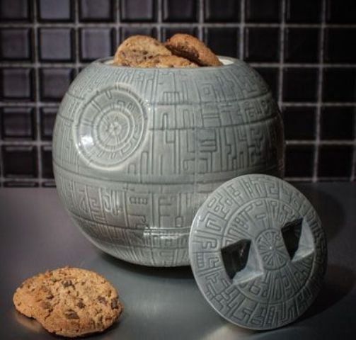 Death Star cookie jar is a whimsy idea for the kitchen
