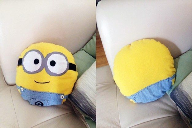 cute Despicable Me themed pillows for any room