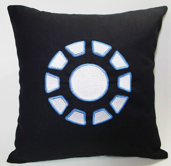 Iron Man inspired pillow case to slightly hint on your favorite character