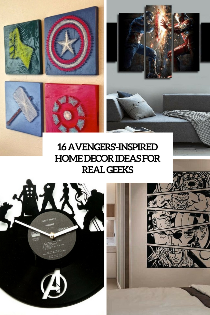 Avengers Inspired Home Decor Ideas For Real Geeks Cover