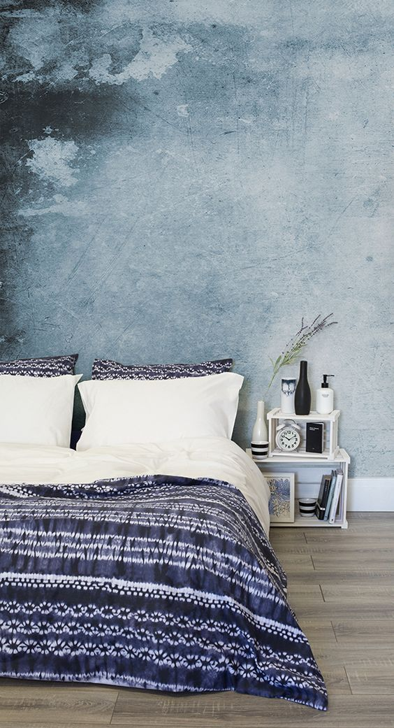 this wallpaper design is both stylish and soothing, creating a tranquil setting