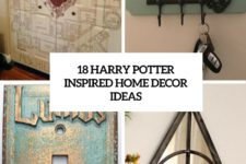 18 harry potter inspired home decor ideas cover