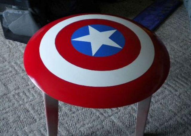 17 Captain America Home D 233 Cor Ideas Shelterness
