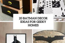 20 batman decor ideas for geeky homes cover