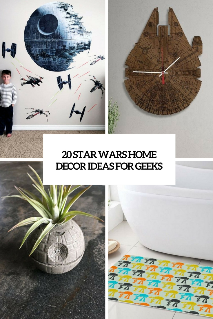 20 Star Wars Home Décor Ideas For Geeks