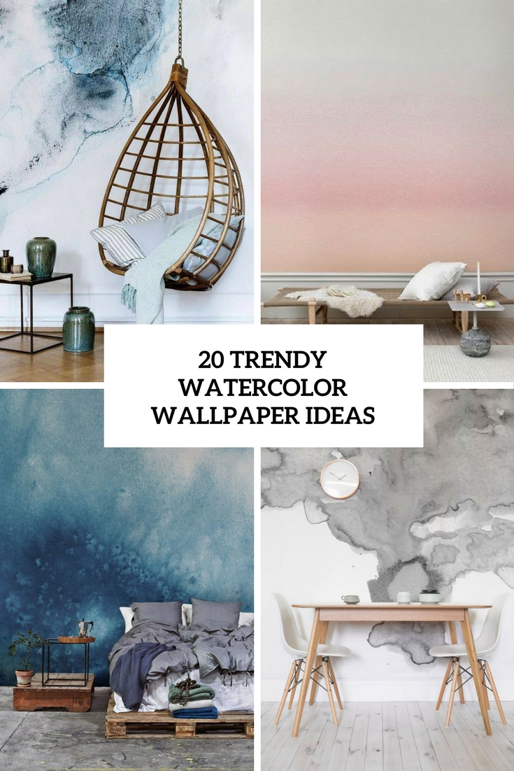 trendy watercolor wallpaper ideas cover