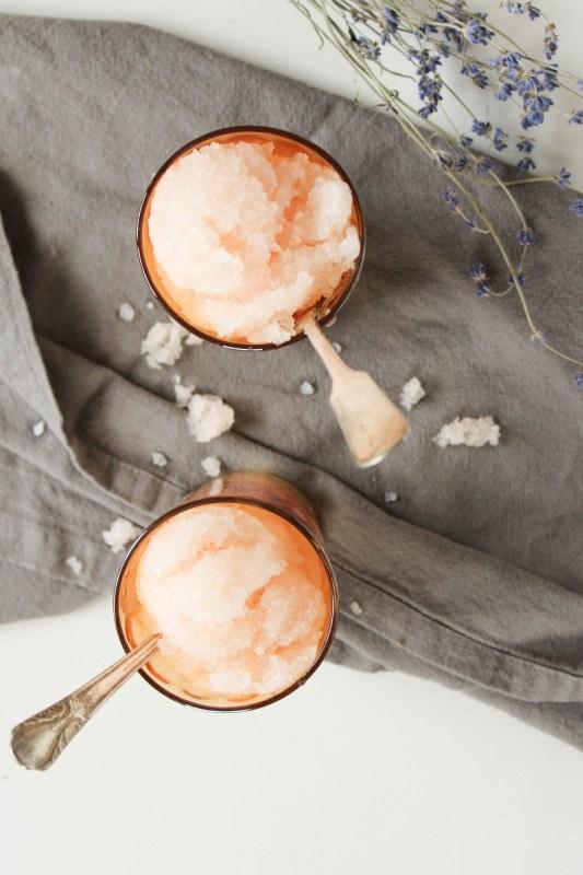 DIY grapefruit pear granita (via www.adventuregathereat.com)