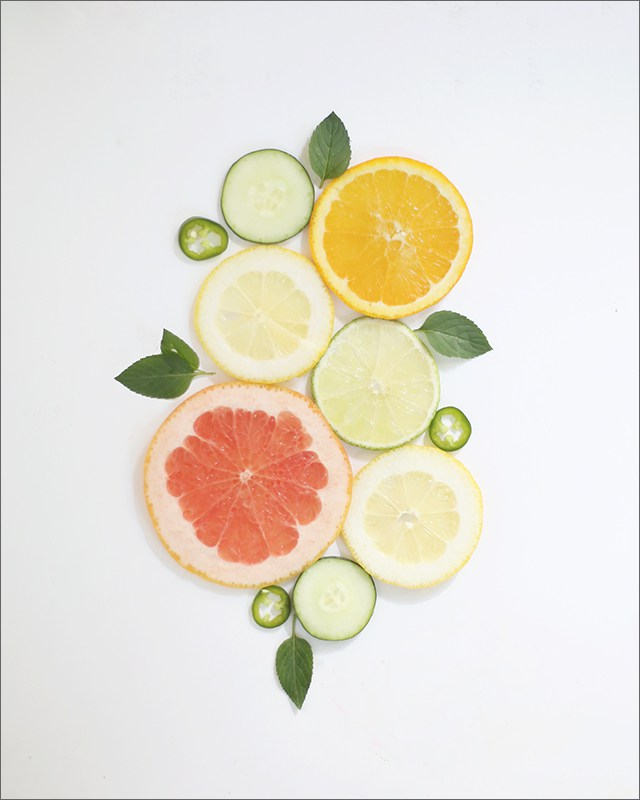 DIY free printable citrus slice wall art (via www.shrimpsaladcircus.com)