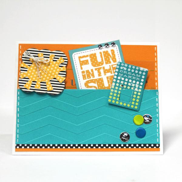 DIY fun in the sun pocket card (via www.craft-e-corner.com)