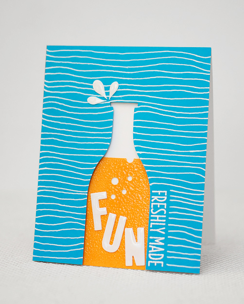 DIY fun soft drink card (via https:)