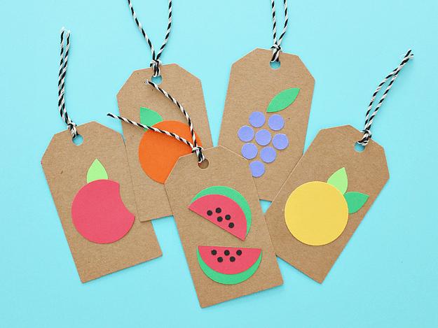 DIY cute fruity gift tags (via https:)