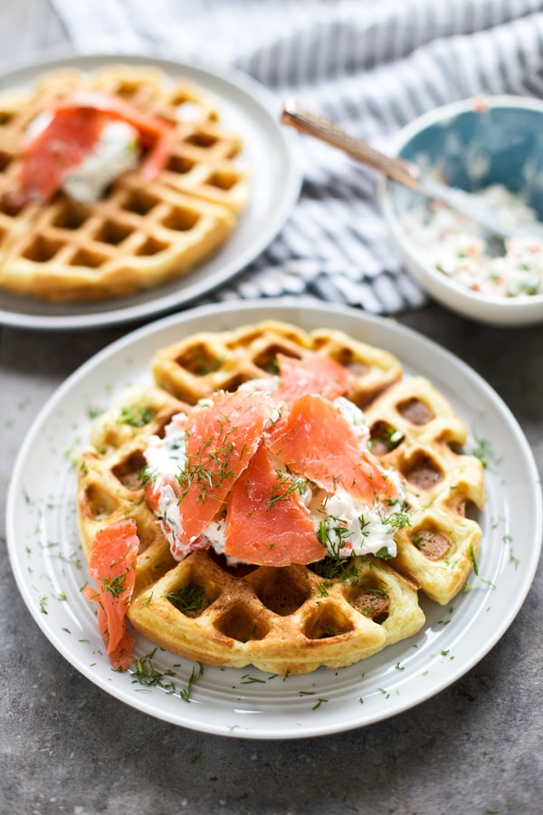DIY chive cheddar waffles (via www.cookingforkeeps.com)
