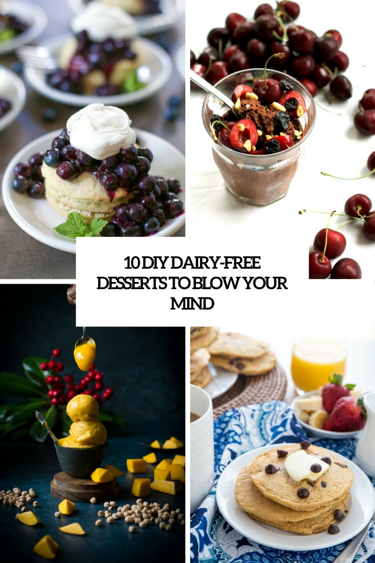 diy dairy free desserts to blow your mind cover