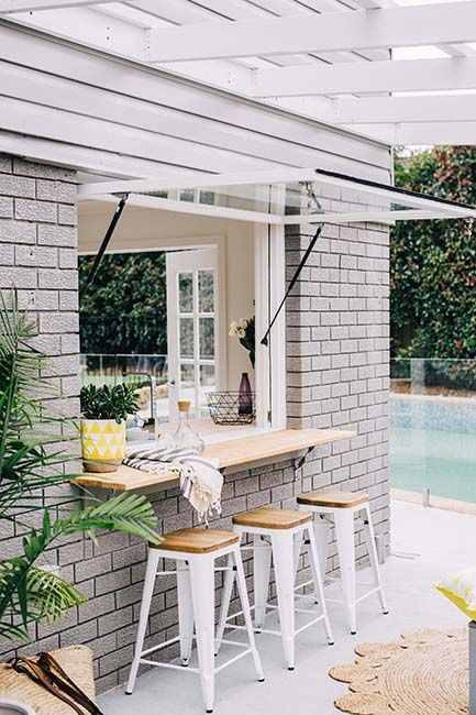 15 Pass Through Kitchen Window Ideas Shelterness