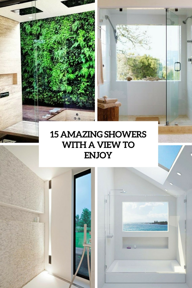 15 Amazing Showers With A View To Enjoy