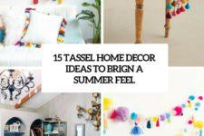 15 tassel home decor ideas to bring a summer feel cover
