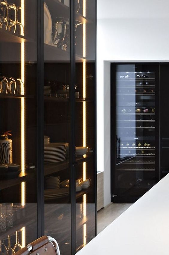 15 Edgy Ways To Use Smoked Glass In Home Decor Shelterness