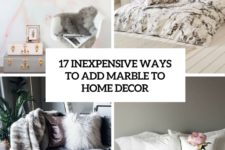 17 inexpensive ways to add marble to home decor cover