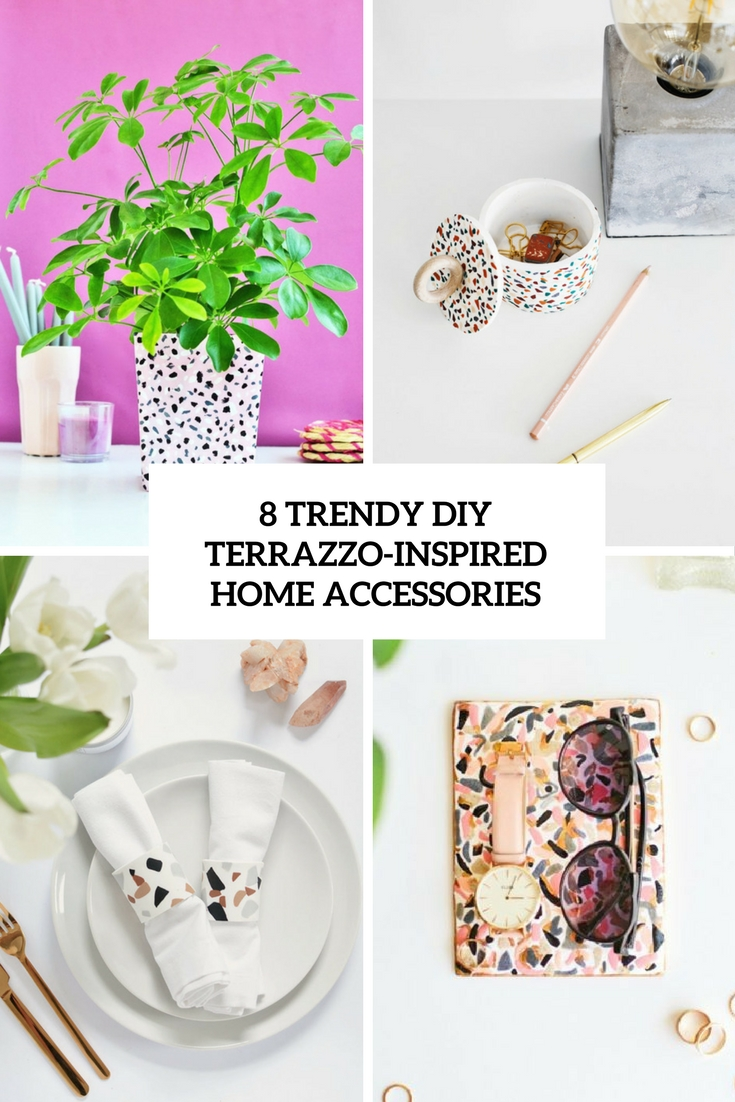 8 trendy diy terrazzo inspired home accessories cover