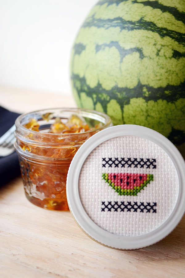 DIY watermelon cross-stitch pattern (via www.storypiece.net)