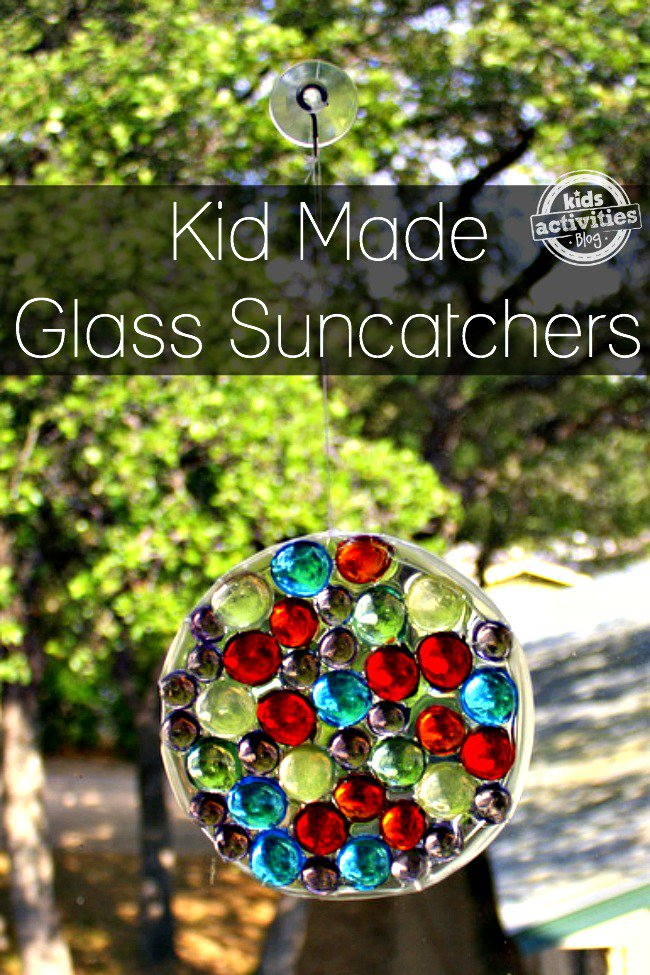DIY glass gem suncatcher (via kidsactivitiesblog.com)