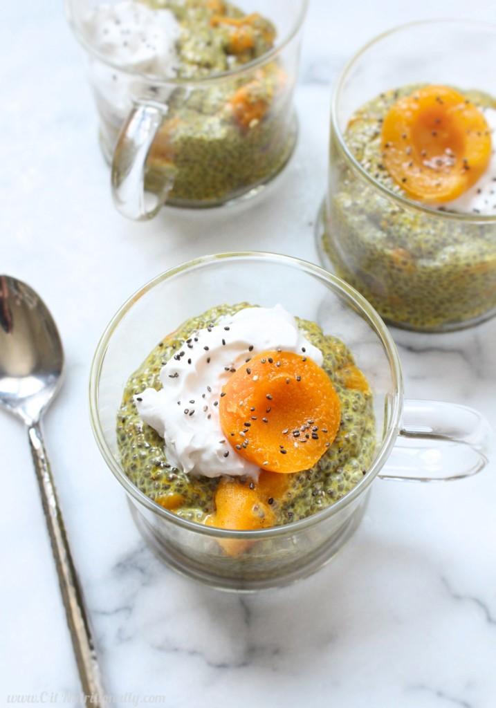 DIY apricot turmeric chia pudding (via citnutritionally.com)