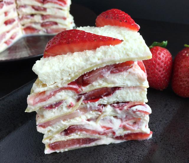 DIY strawberry cloud crepe cake (via www.adayinthekitchen.com)