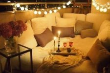 02 a bulb string is right what you need to create a romantic atmosphere