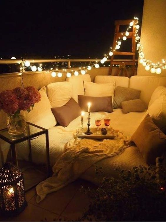a bulb string is right what you need to create a romantic atmosphere