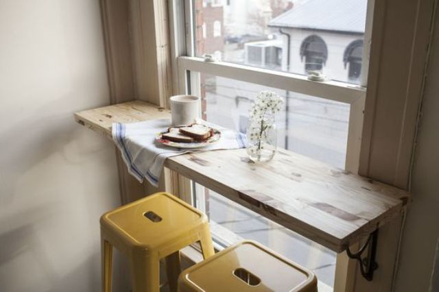 elevate your morning toast-and-tea ritual with a window seat
