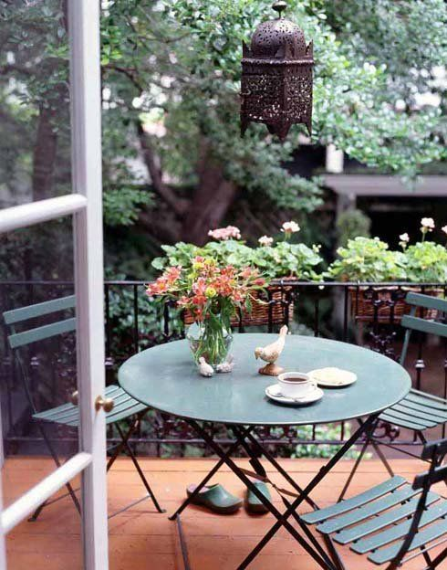 marocco inspired balcony design