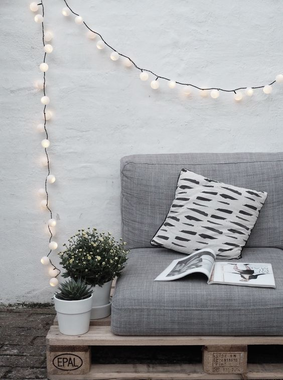 string lights is the most popular and budget-friendly idea you can find