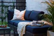 06 IKEA is always to the point, you can use this daybed for enjoying sleep outside