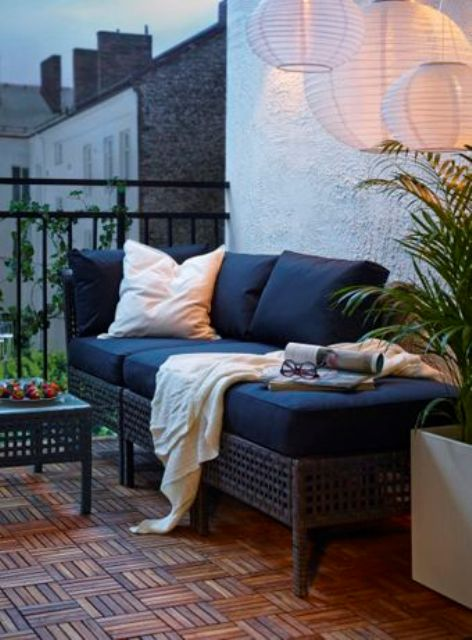 IKEA is always to the point, you can use this daybed for enjoying sleep outside