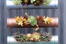hanging DIY planters