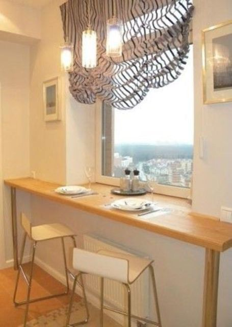 15 Inspiring Kitchen Windowsill Breakfast Zones Shelterness
