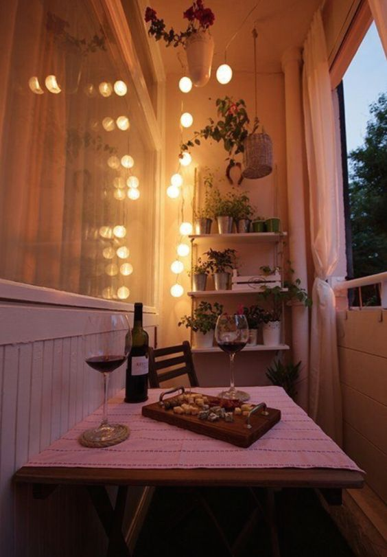 15 Budget-Friendly Lights Ideas For Balconies - Shelterness