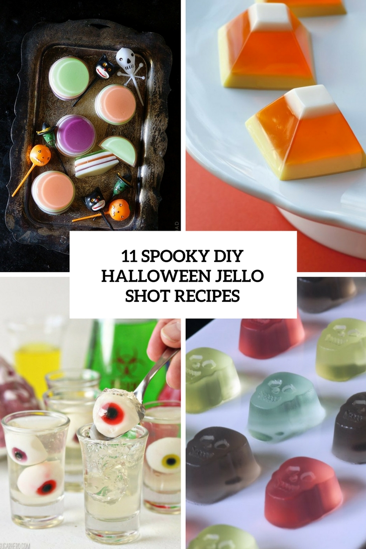 11 Spooky DIY Halloween Jello Shot Recipes