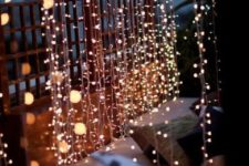 lots of LED strings is right what you need to create an ambience