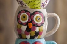 14 colorful owl mugs for zoy fall and winter tea times