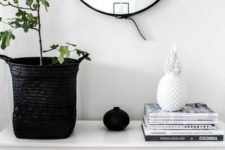 15 a simple white bench will fit many spaces and you can easily DIY it
